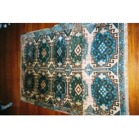 Kurdish Knotted Pile Rug, 1678. SALE