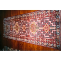 Kurdish Knotted Pile Runner, 1690. SALE