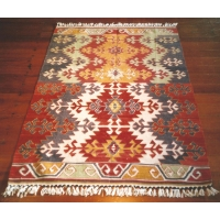 Turkish Kilim Rug, 1756. SALE