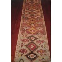 Semi-old Anatolian Kilim Runner, 1785. SALE