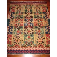Turkish Kilim Rug, 1940. SALE