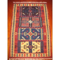 Turkish Kilim Rug, 1941. SALE