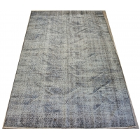 Overdyed Vintage Rug, 2384