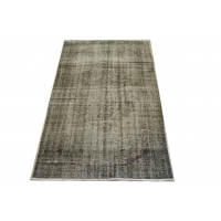 Overdyed Vintage Rug, 2389