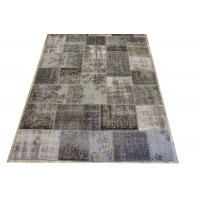 Overdyed Patchwork Rug, 2398