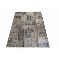 Overdyed Patchwork Rug, 2401