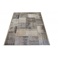 Overdyed Patchwork Rug, 2403