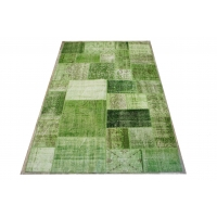 Overdyed Patchwork Rug, 2409