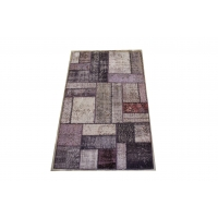Overdyed Patchwork Rug, 2413
