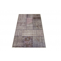 Overdyed Patchwork Rug, 2414