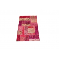 Overdyed Patchwork Rug, 2419