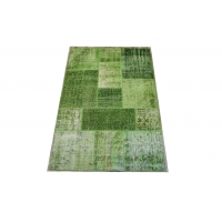 Overdyed Patchwork Rug, 2420