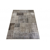 Overdyed Patchwork Rug, 2422