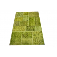 Overdyed Patchwork Rug, 2424