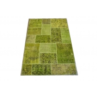 Overdyed Patchwork Rug, 2426
