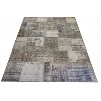 Overdyed Patchwork Rug, 2428