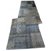 Overdyed Patchwork Runner, 2434