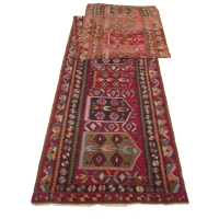 Anatolian Semi-old Kilim Runner, 2445