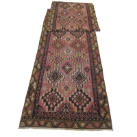 Anatolian Semi-old Kilim Runner, 2446