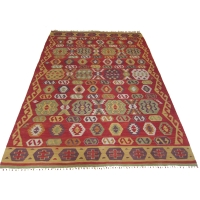 Turkish Kilim Rug, 2458