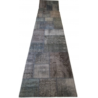 Overdyed Patchwork Runner, 2519