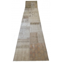 Overdyed Patchwork Runner, 2520