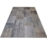 Overdyed Patchwork Rug, 2531