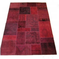 Anatolian Vintage Patchwork Rug, 2544