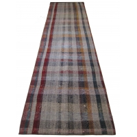 Anatolian Vintage Kilim Striped Runner, 2552