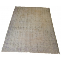 Overdyed Vintage Rug, 2554