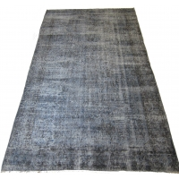 Overdyed Vintage Rug, 2556
