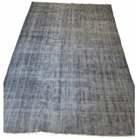 Overdyed Vintage Rug, 2557