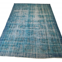 Overdyed Vintage Rug, 2562