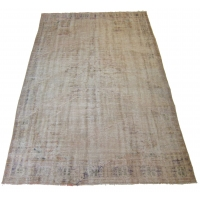 Overdyed Vintage Rug, 2564