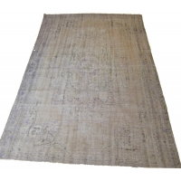 Overdyed Vintage Rug, 2569