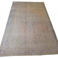 Overdyed Vintage Rug, 2570