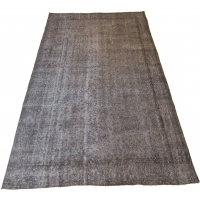 Overdyed Vintage Rug, 2573