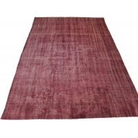 Overdyed Vintage Rug, 2576