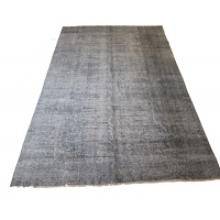 Overdyed Vintage Rug, 2577