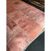 Overdyed Patchwork Rug, 2582
