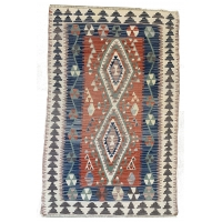 Turkish Kilim Rug, 2665