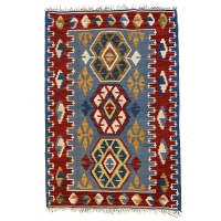 Turkish Kilim Rug, 2669
