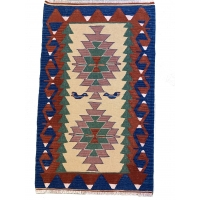 Turkish Kilim Rug, 2671