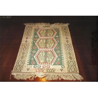 Turkish Kilim Rug, 585. SALE