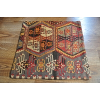 Kilim Cushion Cover, 60cm - 1809