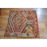 Kilim Cushion Cover, 60cm - 1811