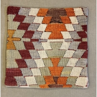 Kilim Cushion Cover, 40cm - 1922