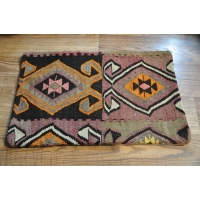 Kilim Cushion Cover, Lumbar -1806