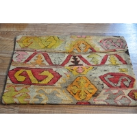 Kilim Cushion Cover, Lumbar -1809