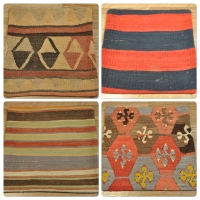 Kilim Cushion Covers, 40cm - 01